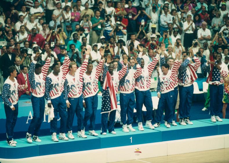 The Olympic Basketball Dream Team