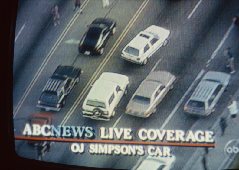 O.J. Simpson and the white Ford Bronco car chase