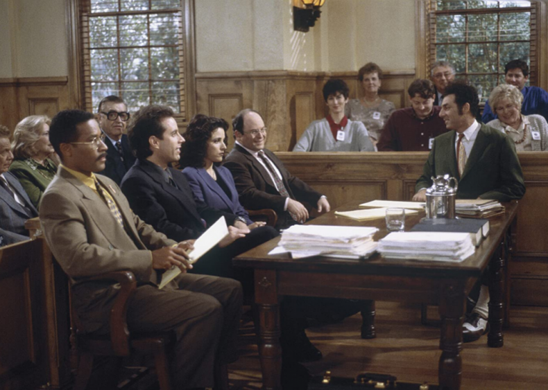 The 'Seinfeld' finale disappoints