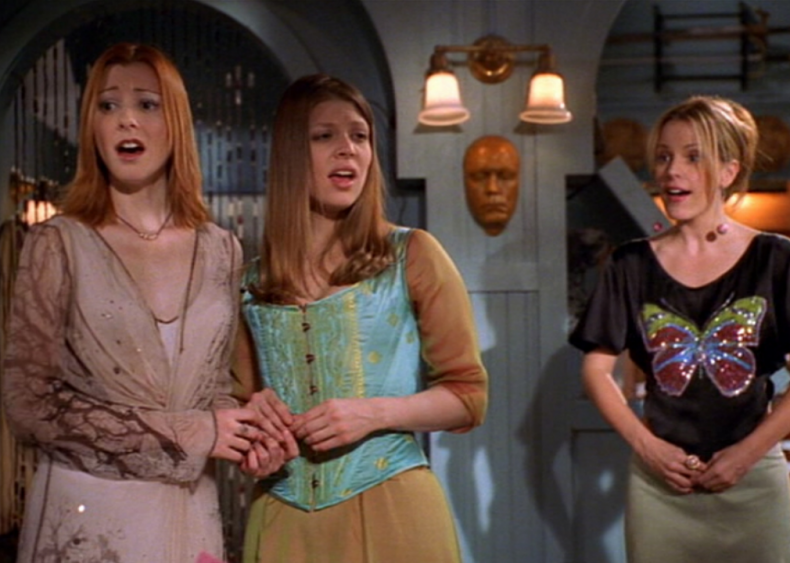 Buffy starts the musical episode trend