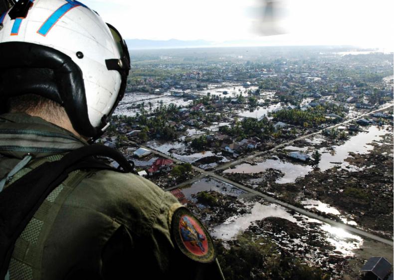The 2004 Indonesia tsunami