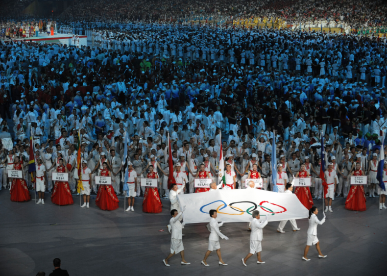 2008 Olympics opening ceremony