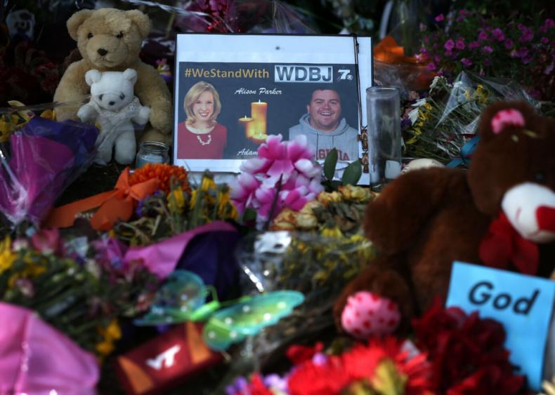 Murder of newswoman Alison Parker and cameraman Adam Ward