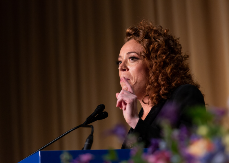 Michelle Wolf performs at the White House Correspondents' Dinner