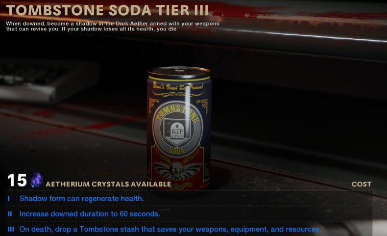 black ops cold war zombies tombstone soda