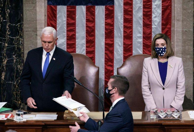 Proud Boys Pence Pelosi Capitol Riots