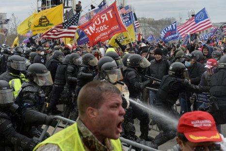 poll Republicans unconcerned violence Biden inauguration