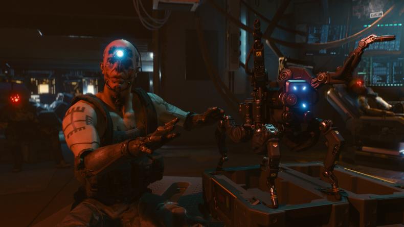 cyberpunk 2077 e3 2018 demo first person