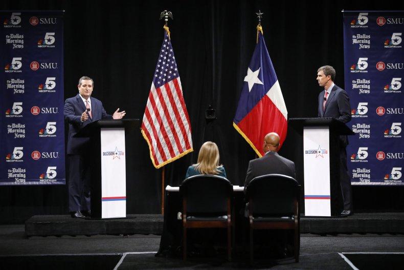 Ted Cruz Beto O'Rourke Debate Capitol