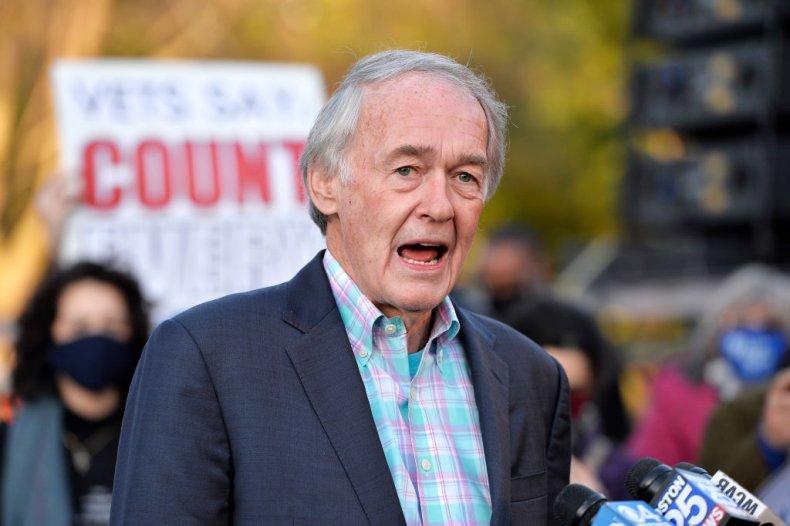 Massachusetts Senator Ed Markey