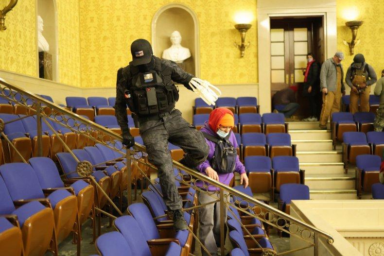 Eric Munchel, Capitol rioter with zip ties