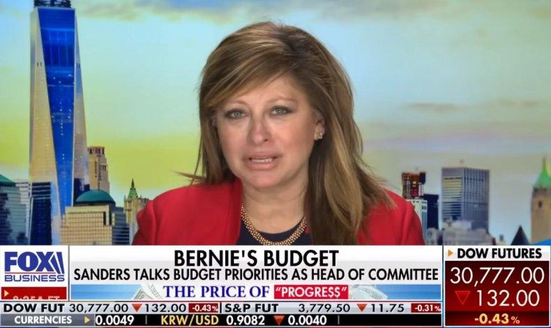 bernie sanders budget senate chairman