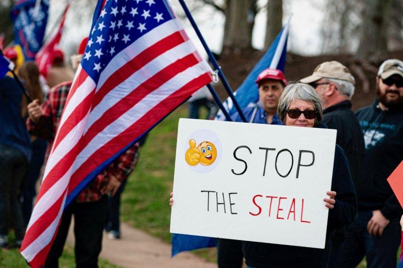 Stop the Steal Joe Biden Donald Trump