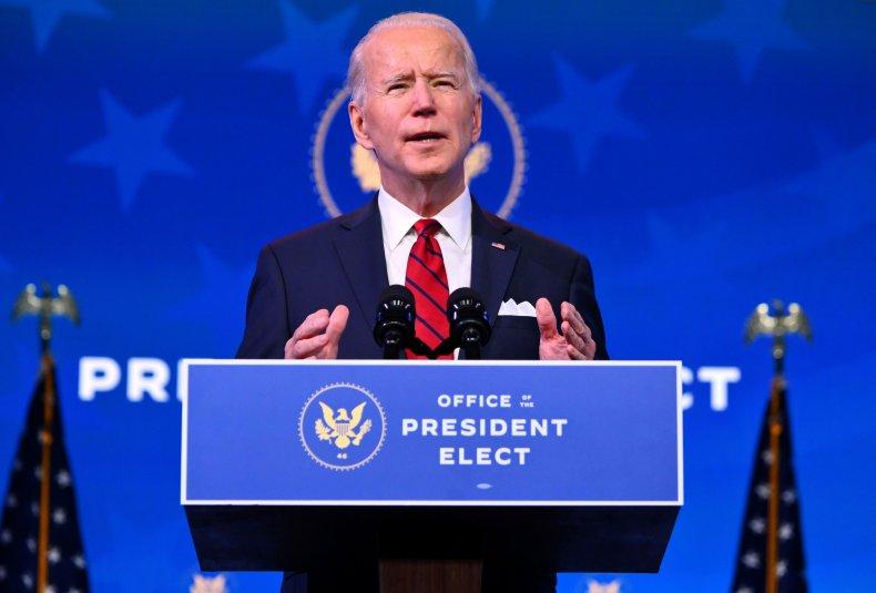 Joe Biden Queen theater Delaware January 2021