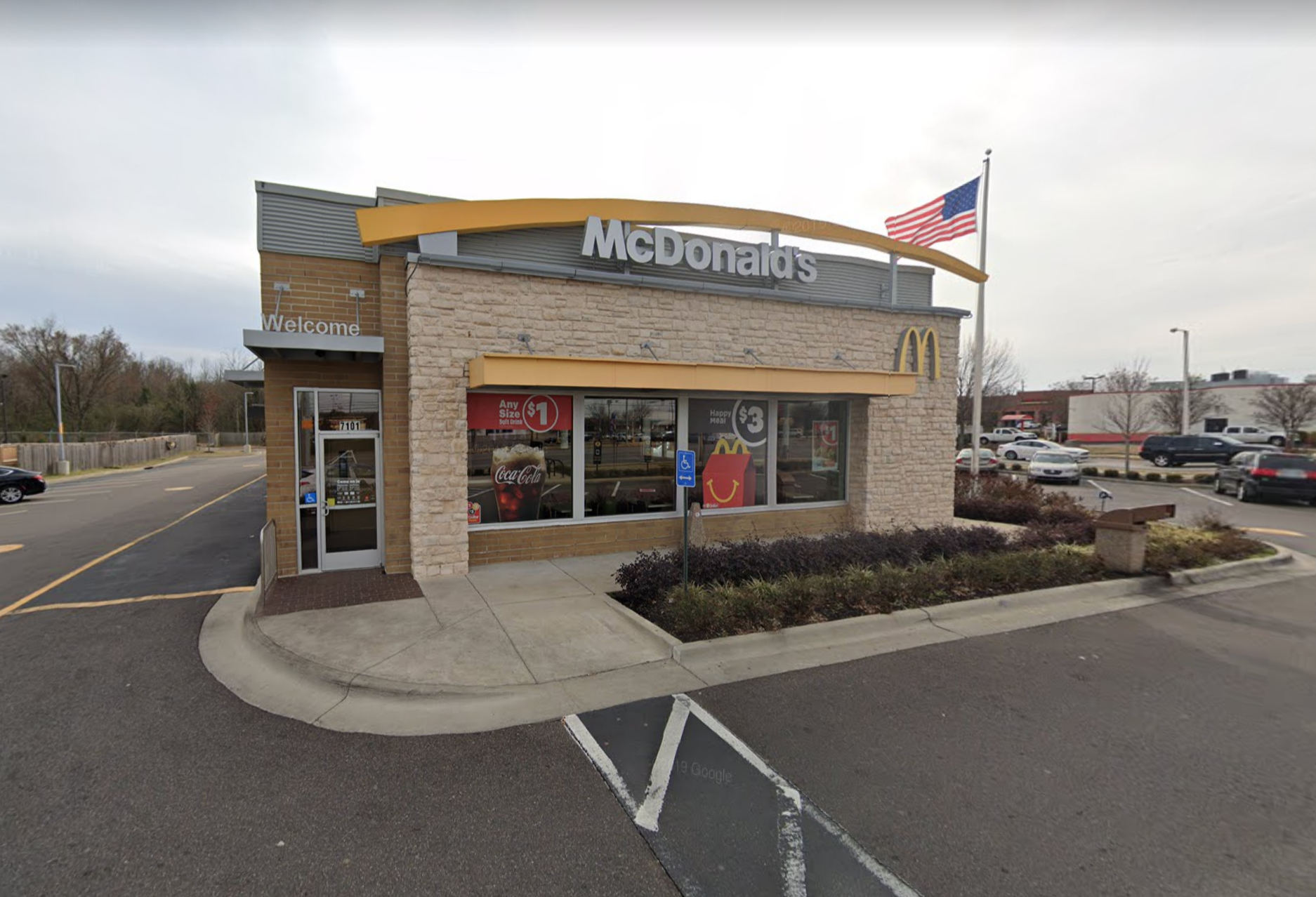 McDonald's worker gunned down by delivery driver in Tennessee