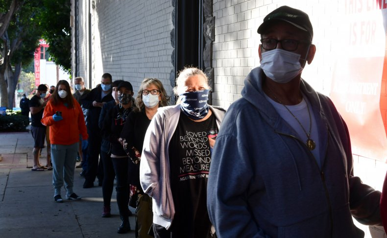 queue for covid19 antibody tests in california