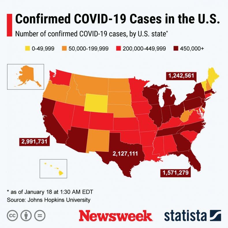 U.S. COVID-19 spread
