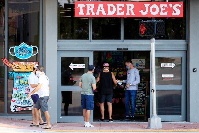 Trader Joe's Miami Beach Florida April 2020