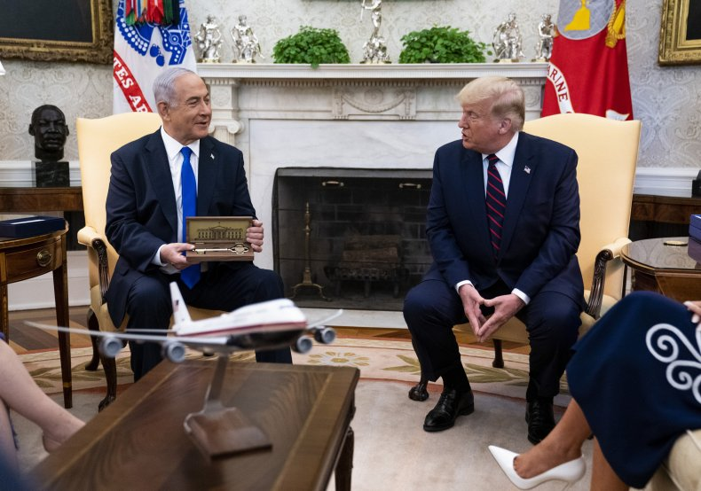 President Trump and Prime Minister Netanyahu in