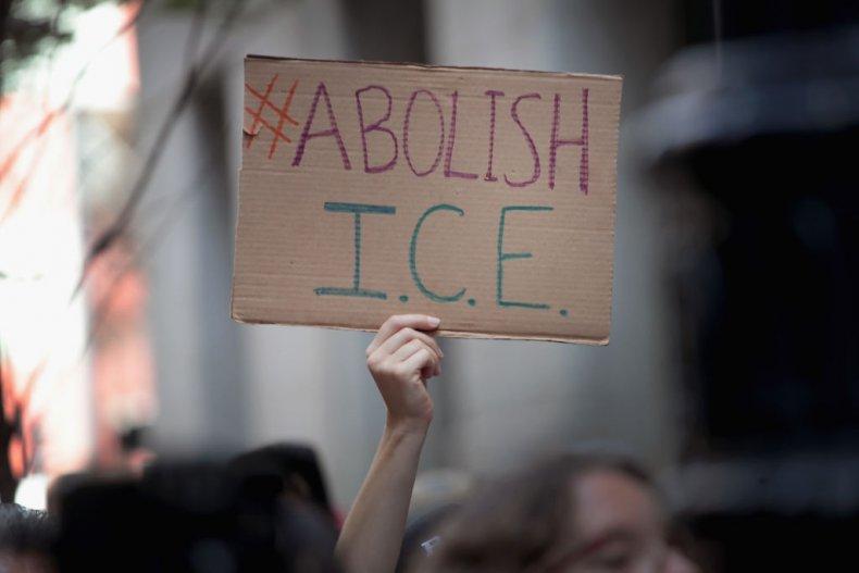 Abolish ICE sign