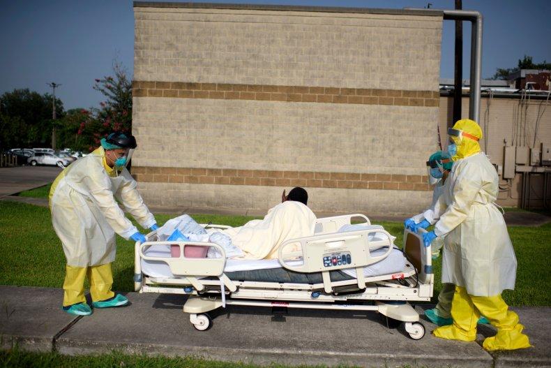 Texas Houston hospital COVID patient 2020