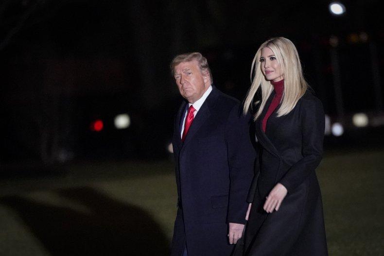 President Donald Trump and Ivanka Trump