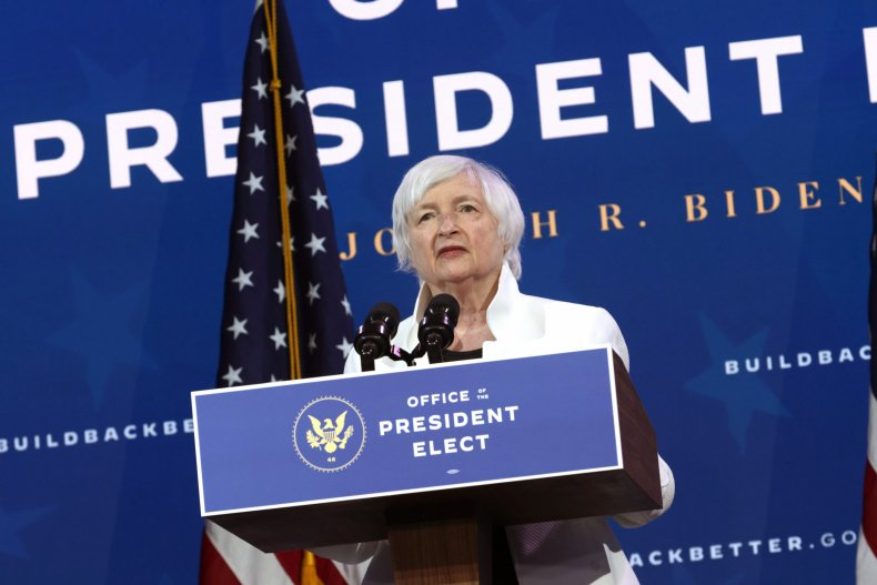 Treasury Secretary Nominee Janet Yellen