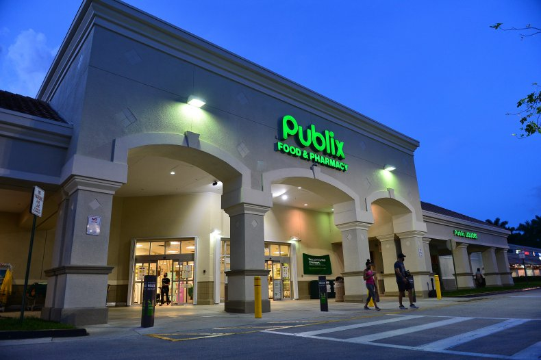Publix store Florida July 2020