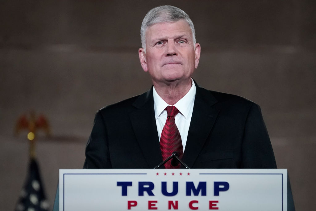 "Over 16,000 Christians want Franklin Graham fired for ""helping incite"" Capitol riot"