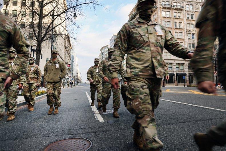 Washington DC Prepares For Inauguration Of Joe
