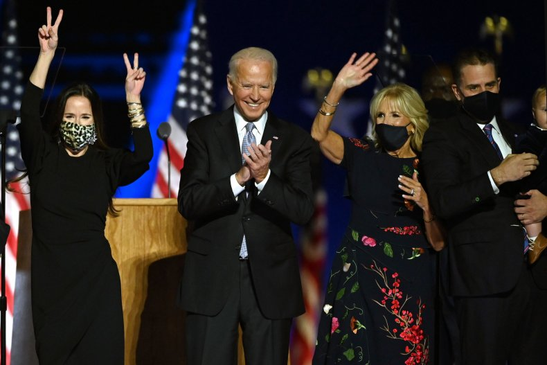 Hunter Ashley Joe Jill Biden