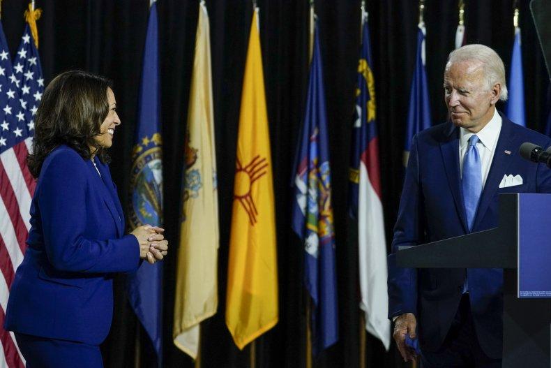 Joe Biden and Running Mate Kamala Harris