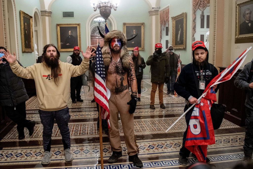 <p>20 Percent of Americans Believe Pro-Trump Capitol Rioters Were Actually Antifa thumbnail