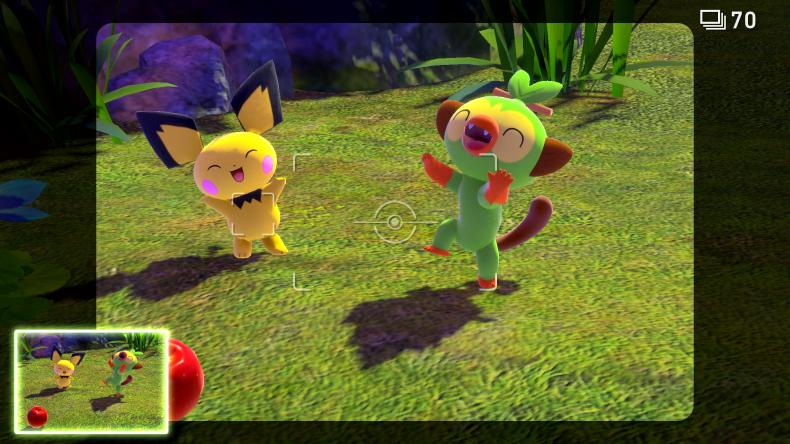 new pokemon snap pichu grookey