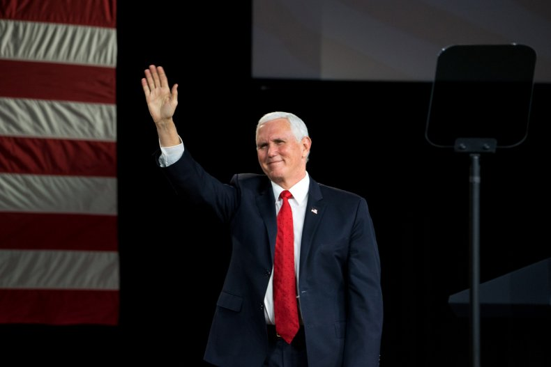 Mike Pence skips Trump farewell