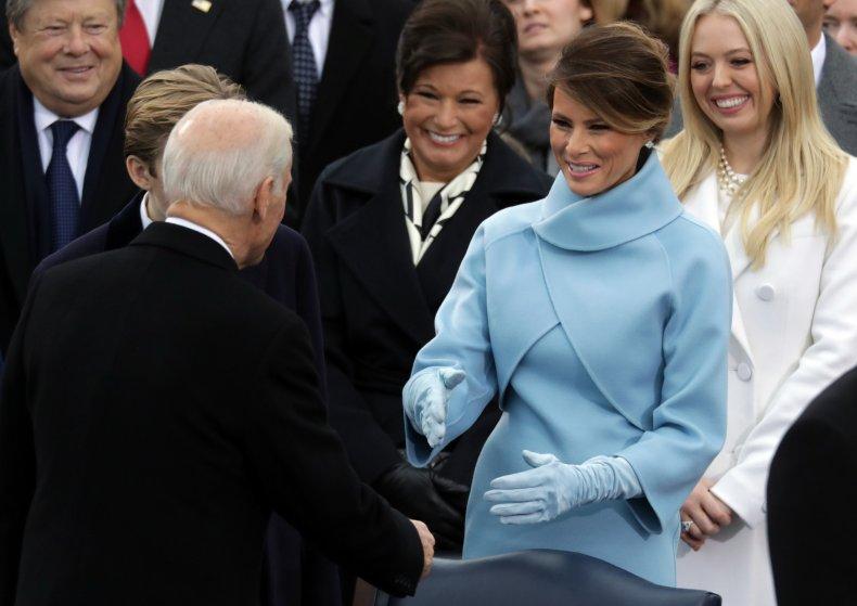 melania trump first lady biden