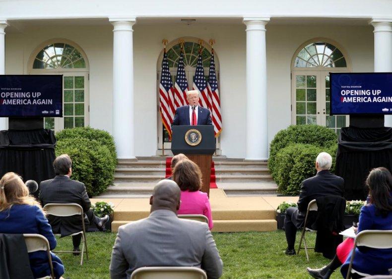 Trump politicizes the pandemic