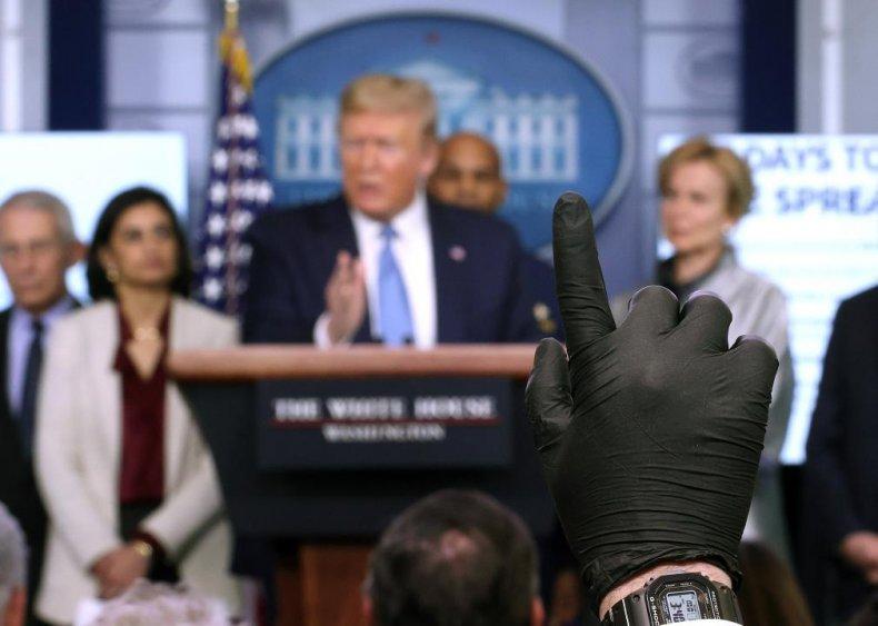 Reporters fact check Trump