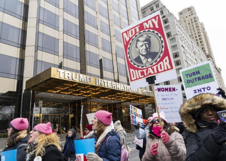 Women repudiated Trump