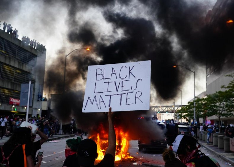 Black Lives Matter takes to the streets