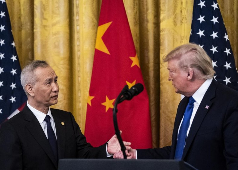 Fighting with China over trade
