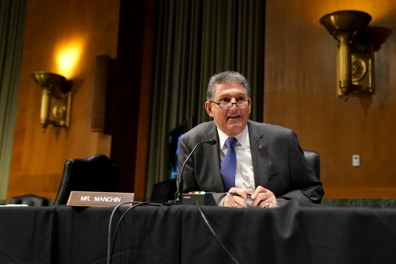 Joe Manchin softens tone on stimulus
