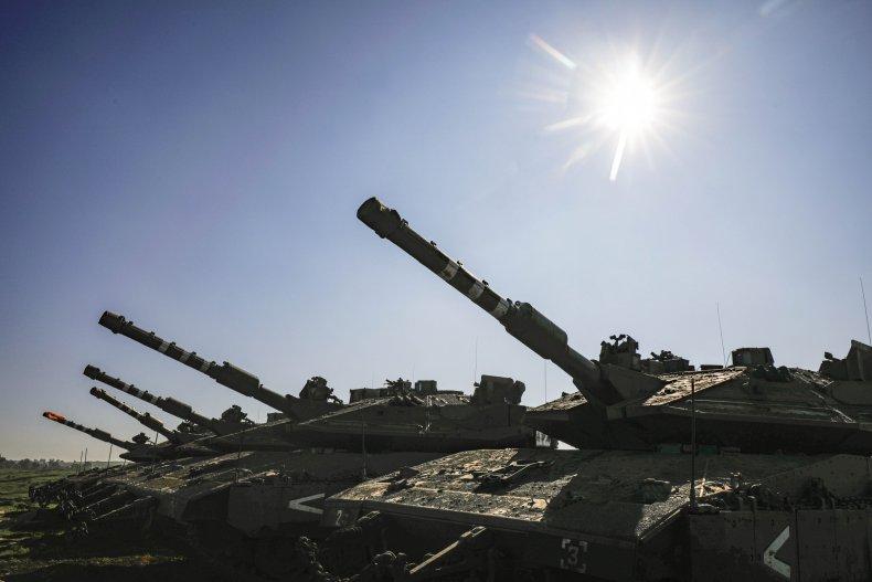 israel, tanks, border, syria, golan