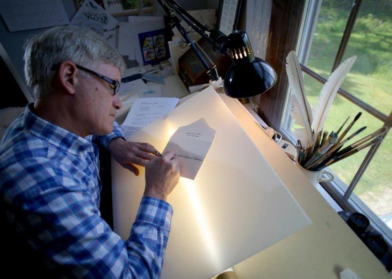 White House chief calligrapher