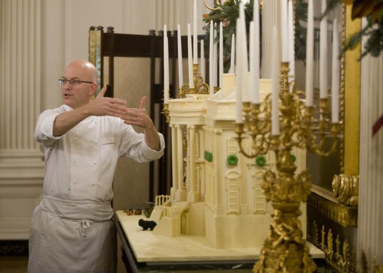 White House executive pastry chef