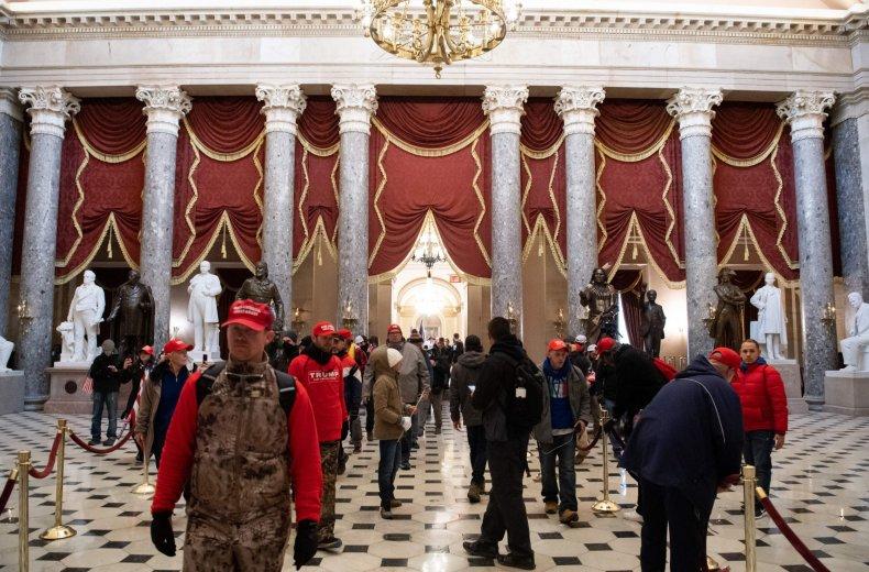capitol riot selfie arrest thomas fee