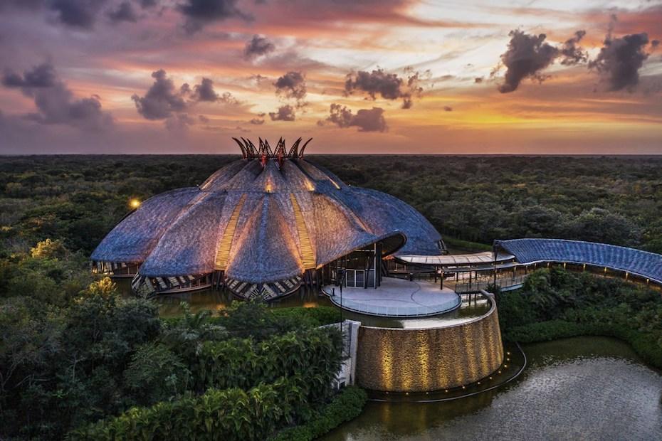 Vidanta theatre in Riviera Maya
