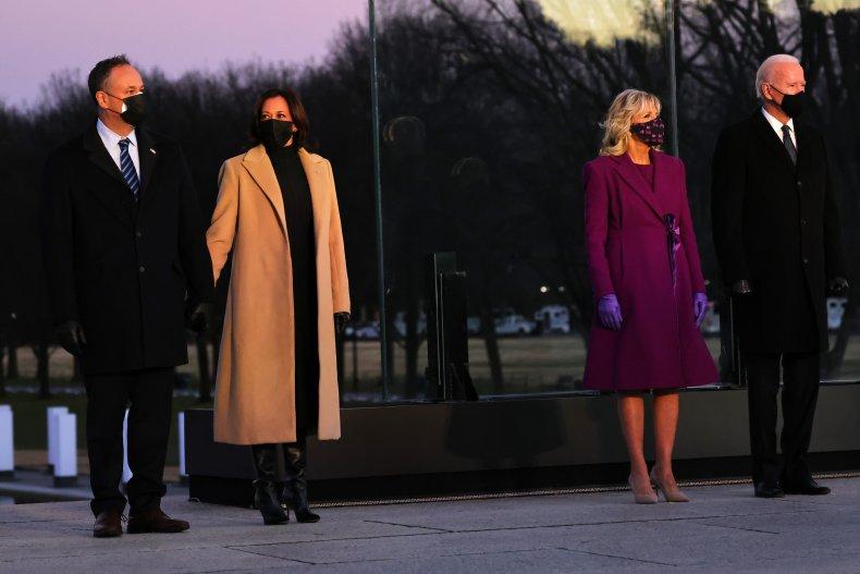 Joe Biden, Kamala Harris and Their Spouses