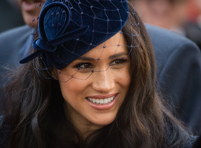 Meghan Markle Attends Remembrance at Westminster Abbey