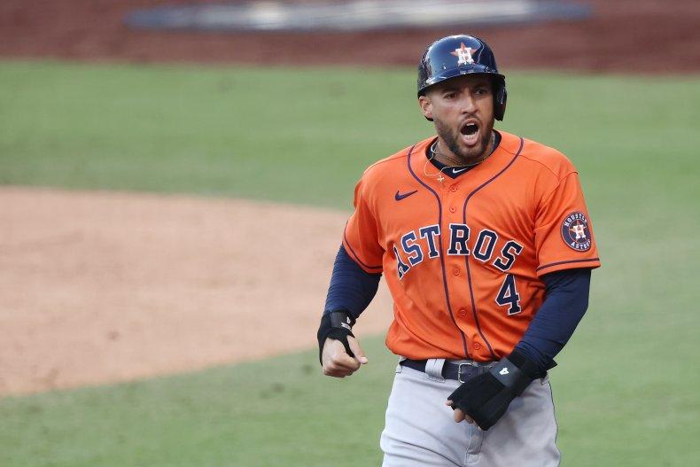 Houston Astros outfielder George Springer